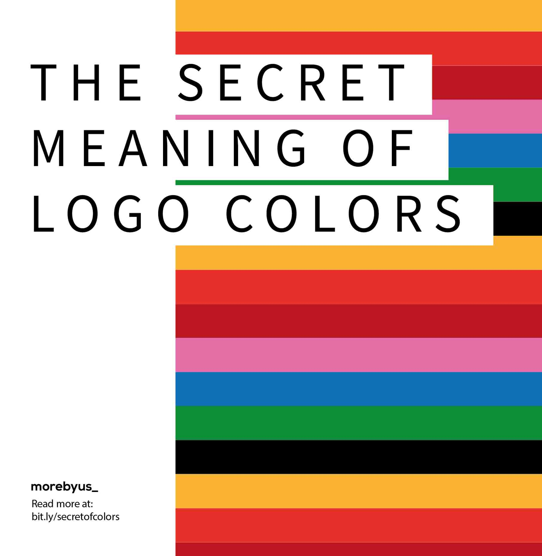 The Secret Meaning Of Logo Colors - Cover