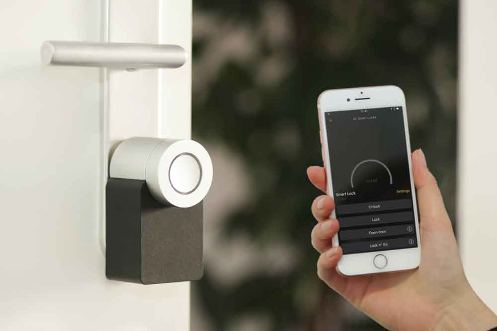 smart home more by us lock