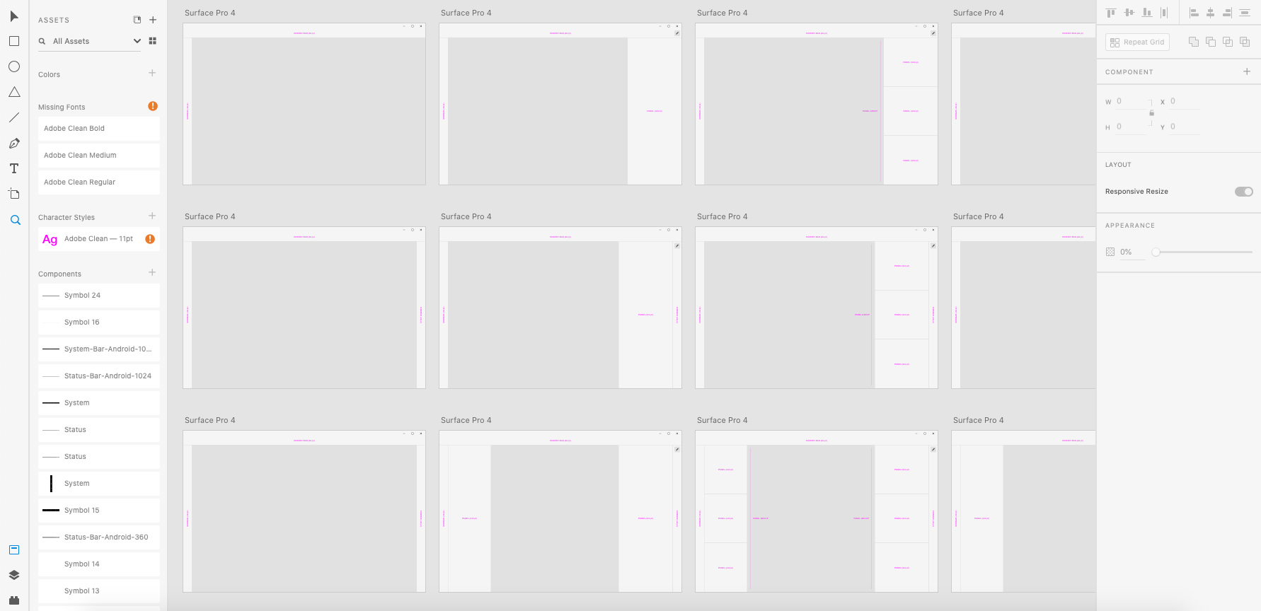 wireframing adobe xd 1