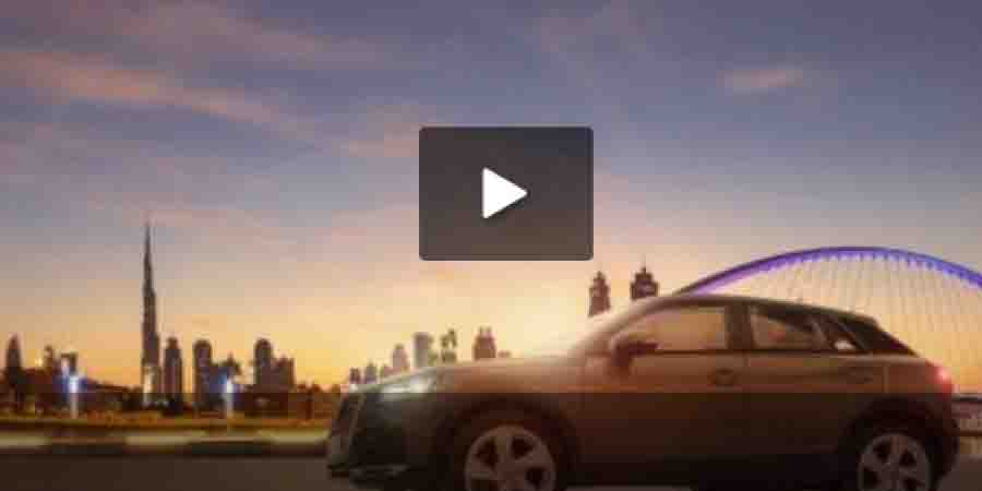 Inspiration: Audi Q2 Crossover - Middle East Behind the Scenes